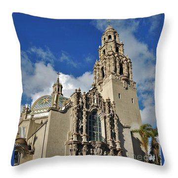 California Tower 2010 Throw Pillow by Jasna Gopic