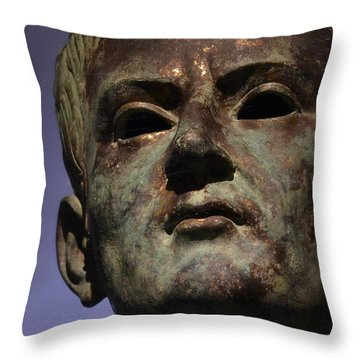 Caligula Throw Pillow by Nadalyn Larsen