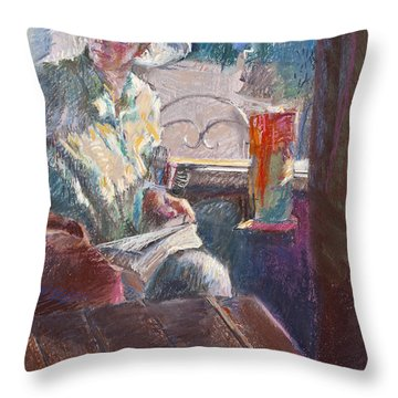 Calistoga Morning Throw Pillow