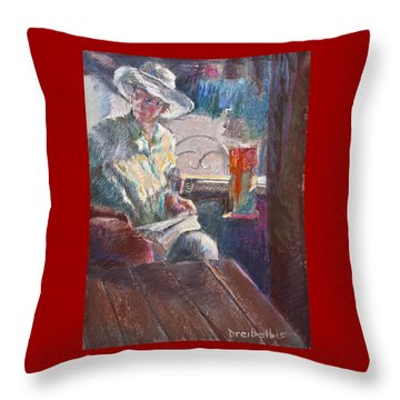 Calistoga Morning Throw Pillow