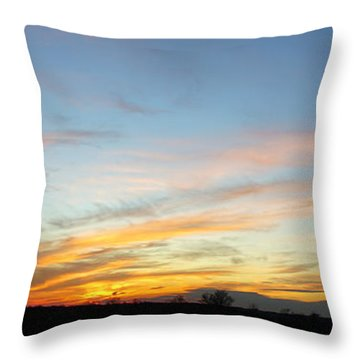Calling All Angels Throw Pillow