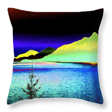 Call Of The Coast Throw Pillow by Will Borden