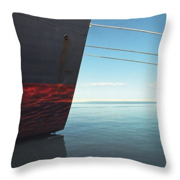 Call Of The Distant Shores Throw Pillow by Marc Nader