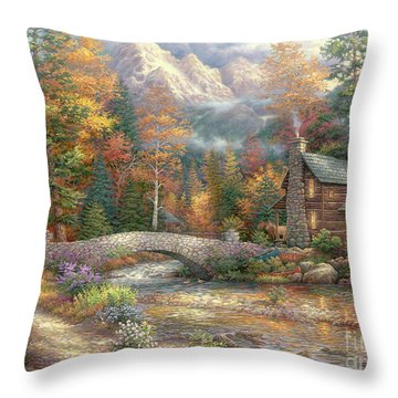 Call Of The Wild Throw Pillow by Chuck Pinson