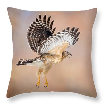 Throw Pillow featuring the photograph Call Of The Wild Square by Bill Wakeley