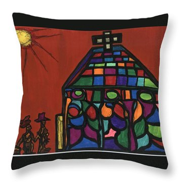 Call To Worship Throw Pillow