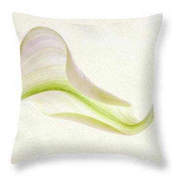 Calla Curves Throw Pillow