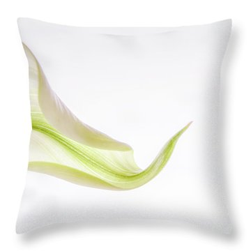 Calla Curves 2 Throw Pillow
