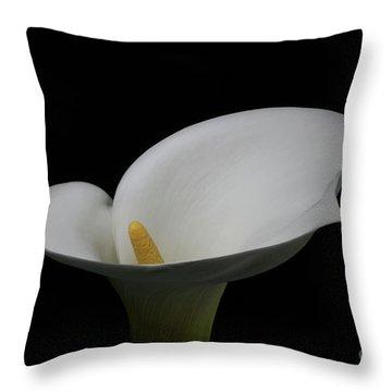 Calla Lily #2 Throw Pillow
