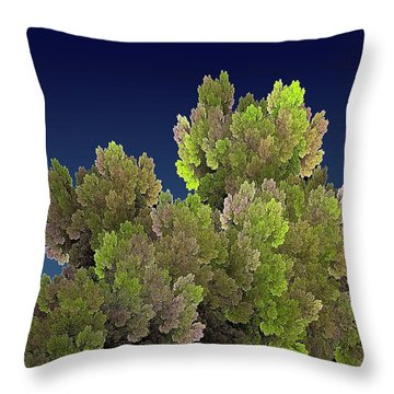 Callahan Grove Spring Throw Pillow