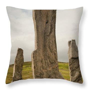 Callanish Standing Stones Throw Pillow