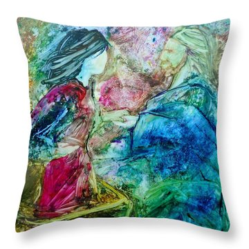 Called Out Of The Boat Throw Pillow