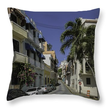 Callejon De Las Monjas Throw Pillow