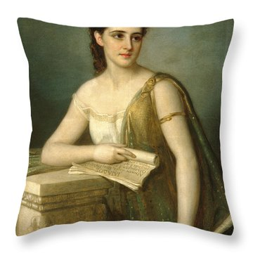 Calliope Throw Pillow