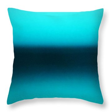 Calm Morning Throw Pillow