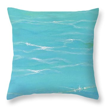 Calm Reflections Throw Pillow