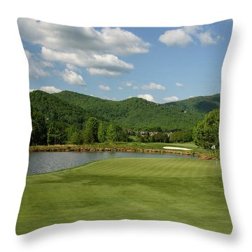 Calm Winds Throw Pillow