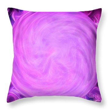 Calm Within The Storm Throw Pillow