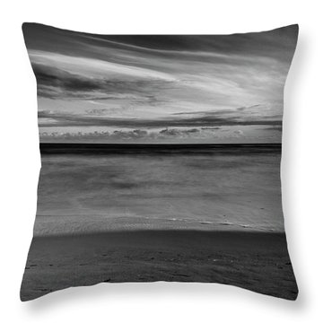 Throw Pillow featuring the photograph Calming Seas by Linda Lees