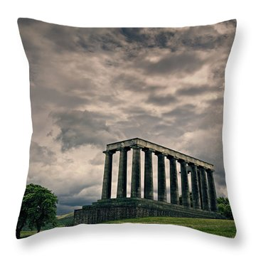 Calton Hill Throw Pillow