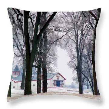 Calumet Winter Throw Pillow