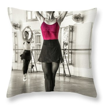 Camaguey Ballet 1 Throw Pillow