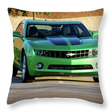 Camaro Origional Throw Pillow