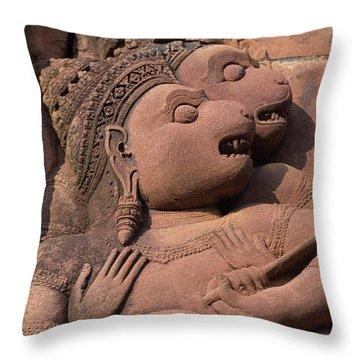 Cambodia_d411 Throw Pillow