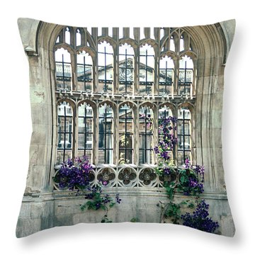 Cambridge Dreams Throw Pillow