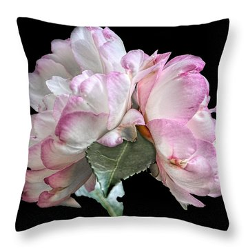 Camelia Throw Pillow