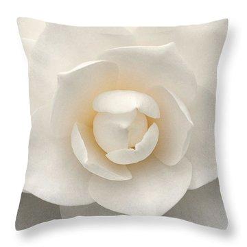 Camellia Perfection Throw Pillow