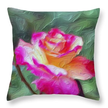 Cameo Throw Pillow by Don Wright