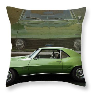 Camero Throw Pillow by Jim  Hatch