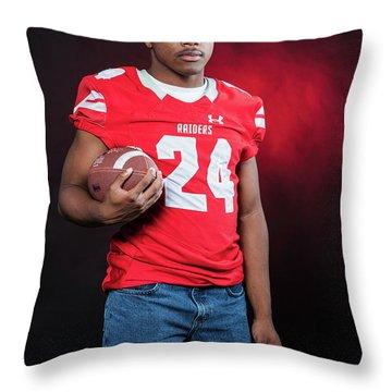 Cameron 023 Throw Pillow by M K  Miller
