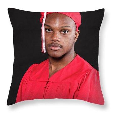 Cameron 031 Throw Pillow by M K  Miller