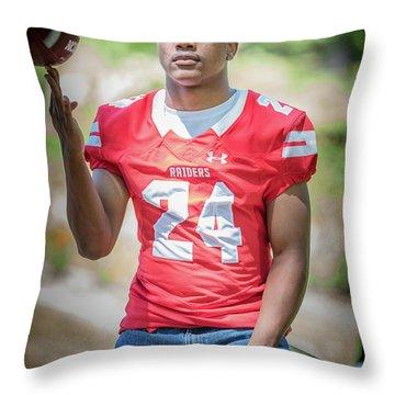 Cameron 038 Throw Pillow by M K  Miller