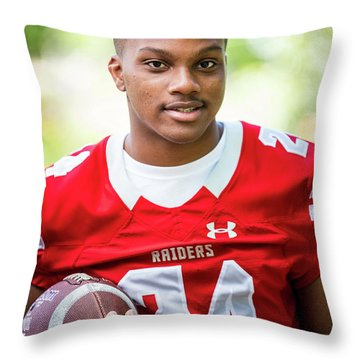 Cameron 039 Throw Pillow by M K  Miller