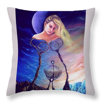 Elementos Throw Pillow
