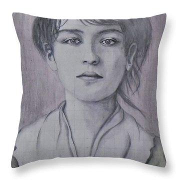 Camile Claudel Throw Pillow