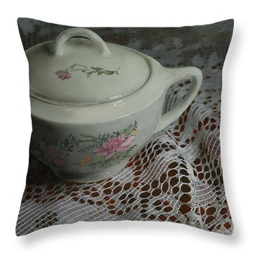 Camilla's Sugar Bowl Throw Pillow