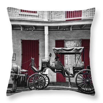 Camino Real Muelle Throw Pillow by Tammy Wetzel
