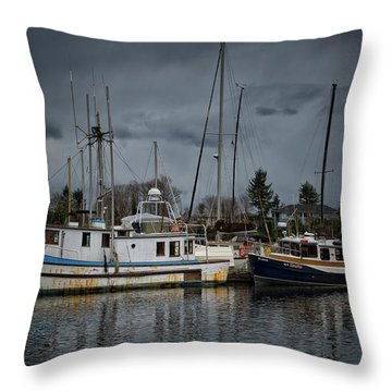 Throw Pillow featuring the photograph Camjim by Randy Hall