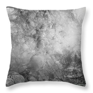 Throw Pillow featuring the painting Camouflage by Trilby Cole