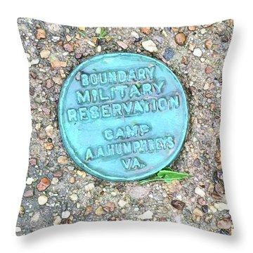 Camp A.a. Humphreys Throw Pillow