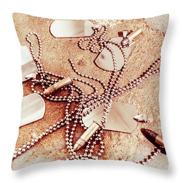 Campaign Of Liberty  Throw Pillow
