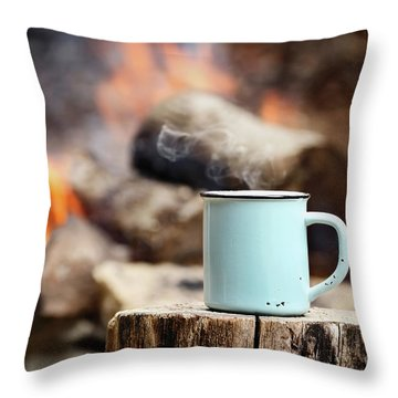 Camp Throw Pillows