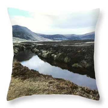 Hoy, Scotland Throw Pillow