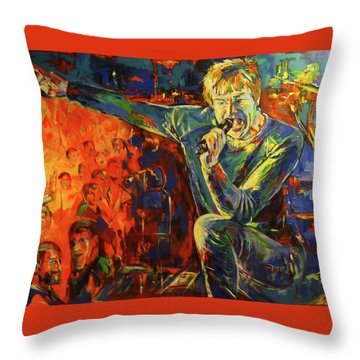 Campino Throw Pillow by Koro Arandia