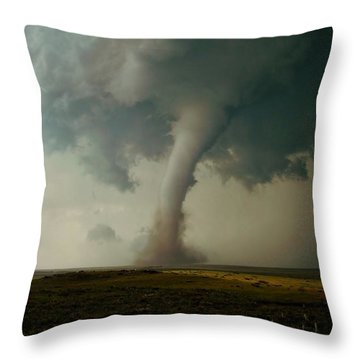 Campo Tornado Throw Pillow