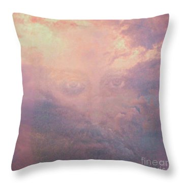 Can You See Him? Throw Pillow
